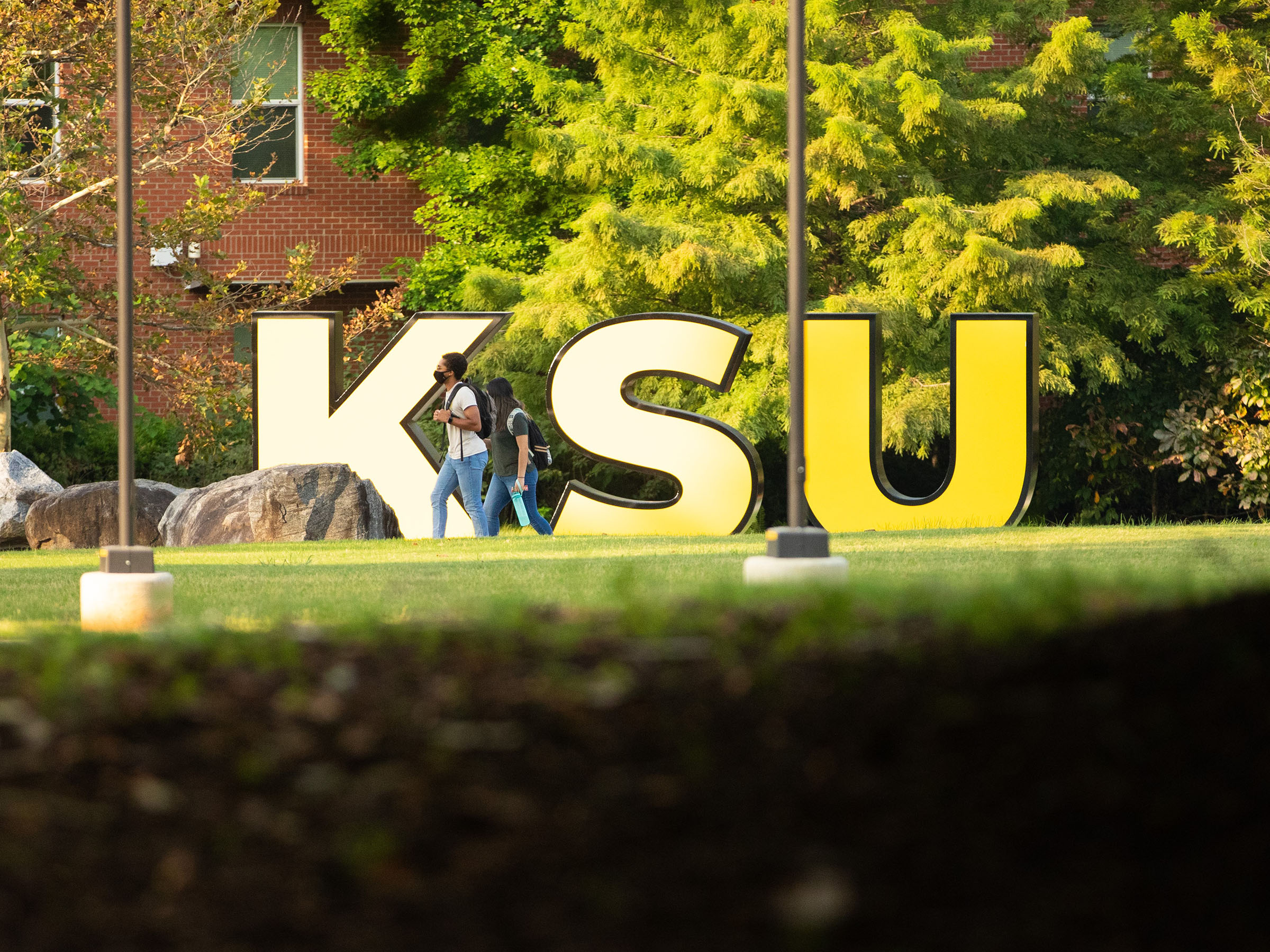 KSU sign on Marietta campus