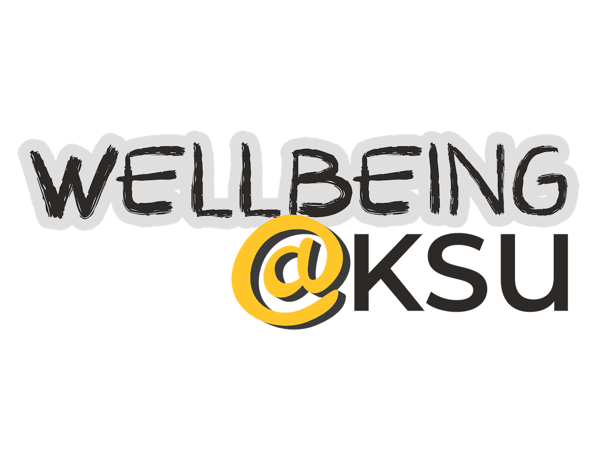 Wellbeing@KSU graphic